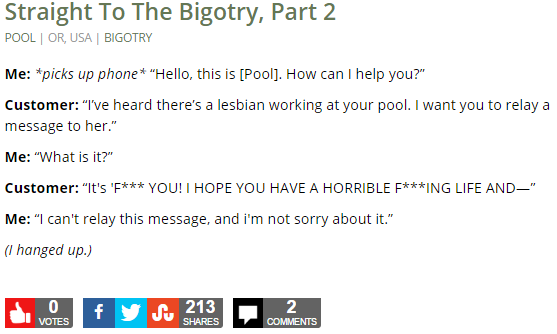 Straight To The Bigotry, Part 2